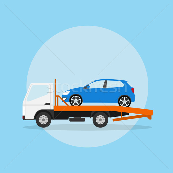 tow truck Stock photo © shai_halud