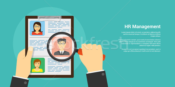 human resource concept Stock photo © shai_halud