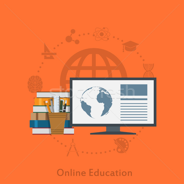 online education Stock photo © shai_halud