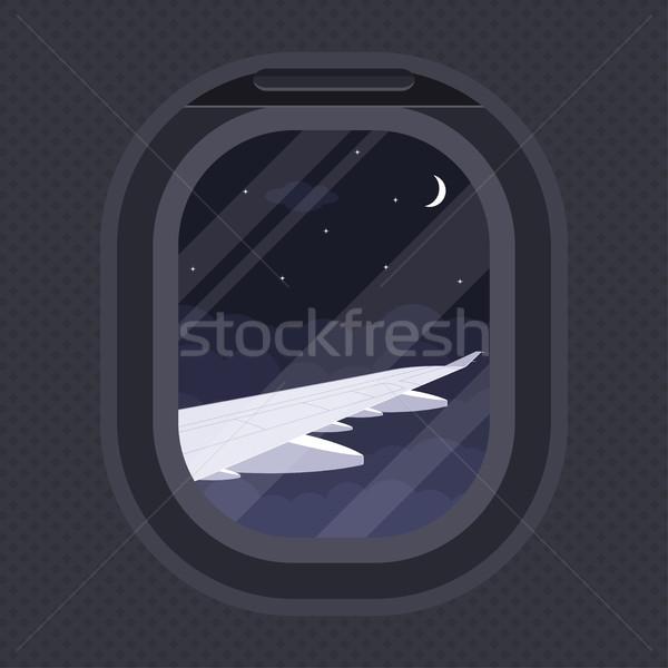 plane illuminator Stock photo © shai_halud