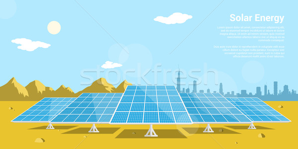 solar energy Stock photo © shai_halud