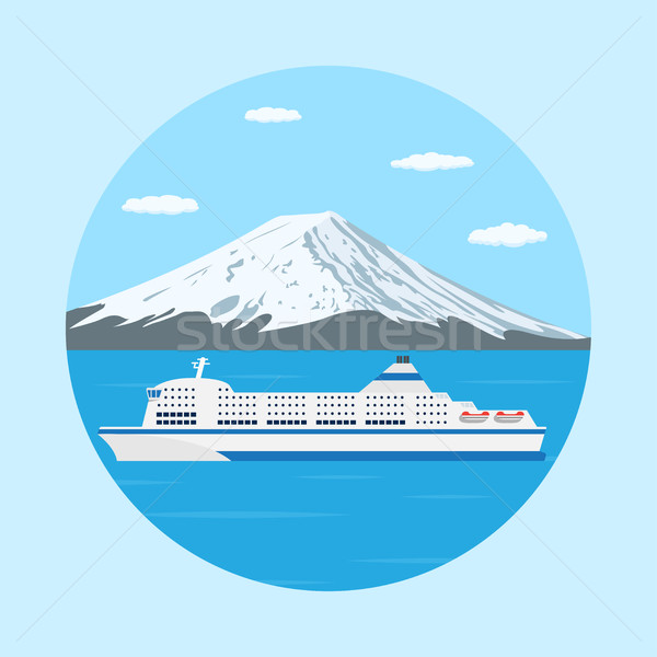 ferry boat Stock photo © shai_halud