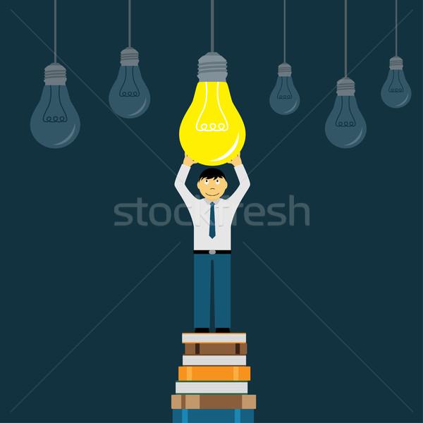 new idea concept Stock photo © shai_halud