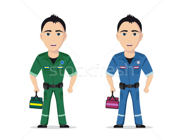Picture of a paramedic Stock photo © shai_halud