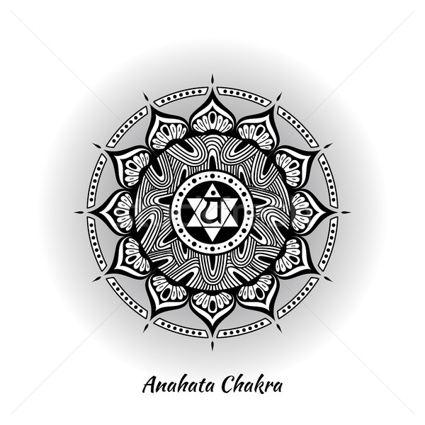 Anahata chakra design Stock photo © shai_halud