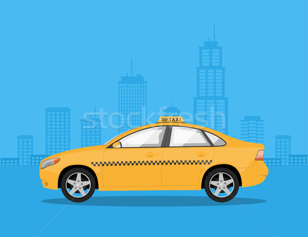 taxi car Stock photo © shai_halud