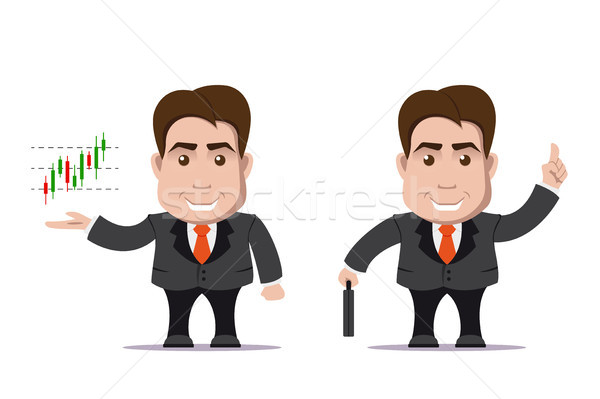 business man character Stock photo © shai_halud