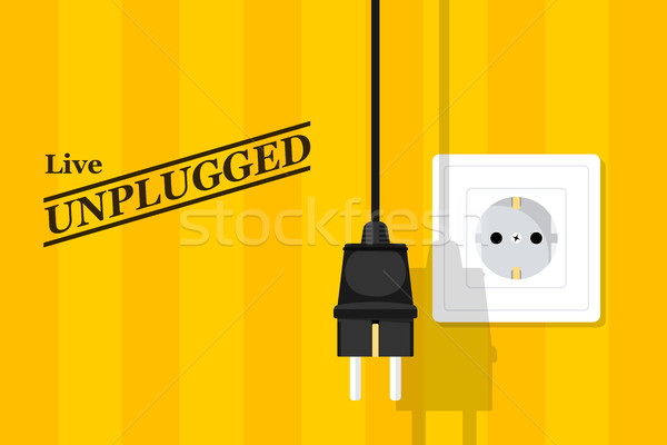 unplugged Stock photo © shai_halud