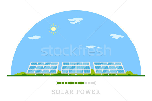 solar energy concept Stock photo © shai_halud