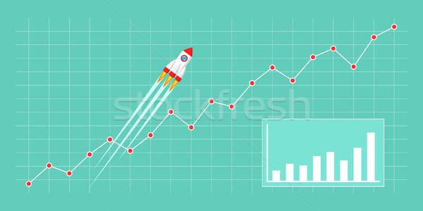 Business growth concept Stock photo © shai_halud