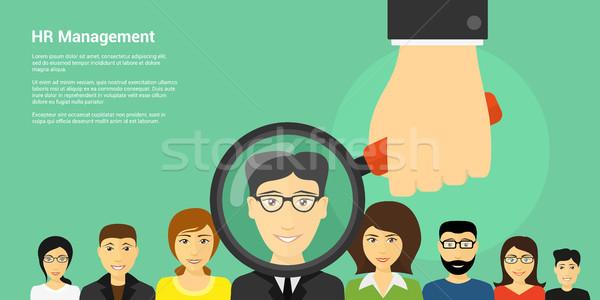 Human Resource Management Stock photo © shai_halud