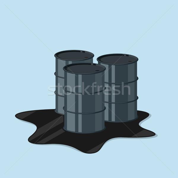 нефть фотография стиль иллюстрация бизнеса стали Сток-фото © shai_halud