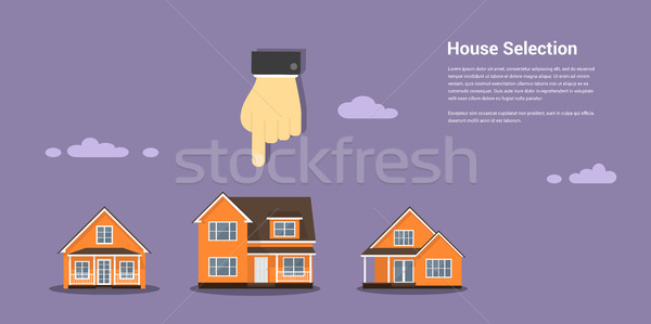 house selection concept Stock photo © shai_halud