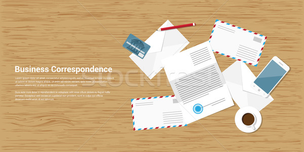 business correspondence Stock photo © shai_halud