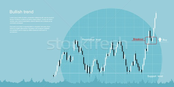 bullish trend concept Stock photo © shai_halud