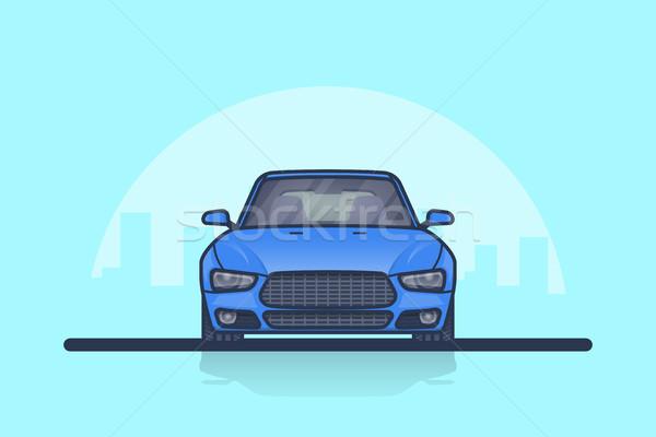 автомобилей вид сбоку фотография современных большой Сток-фото © shai_halud