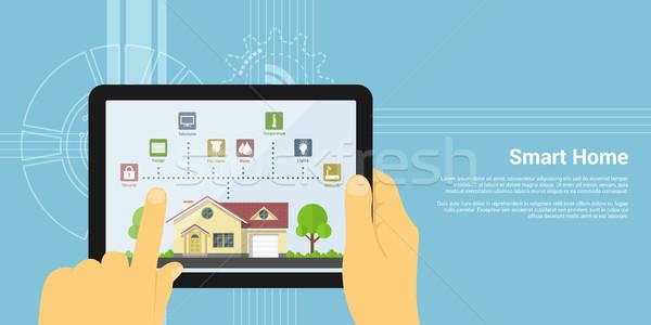 smart home Stock photo © shai_halud