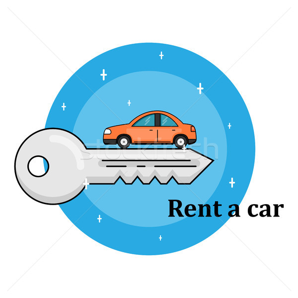 rent a car concept Stock photo © shai_halud
