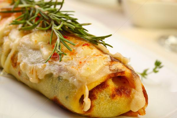 белый кремом сыра продовольствие красный Сток-фото © shamtor