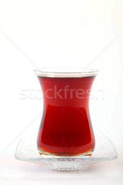 турецкий чай чистой стекла белый Сток-фото © shamtor