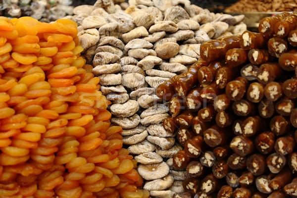 Assortment of dried fruits Stock photo © shamtor