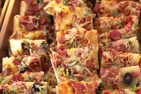 Pizza slices Stock photo © shamtor