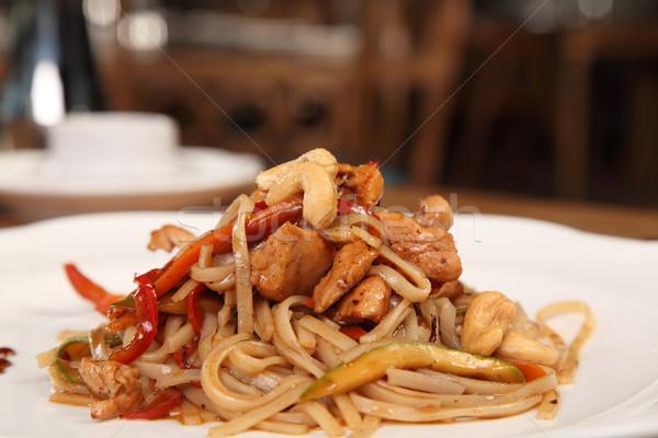 куриные вкусный овощей обеда китайский Сток-фото © shamtor