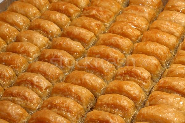 Fresh Baklava Stock photo © shamtor