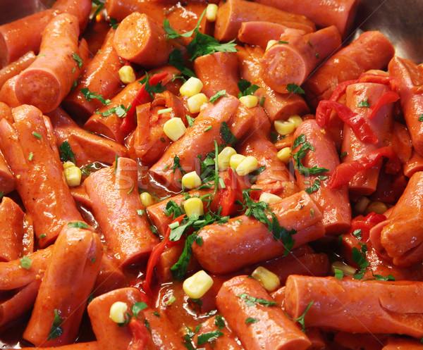 Frankfurter sausages Stock photo © shamtor