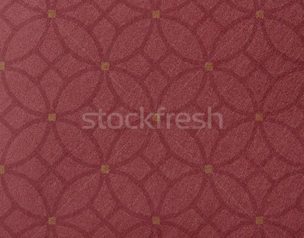 аннотация круга красный золото стены фон Сток-фото © shamtor