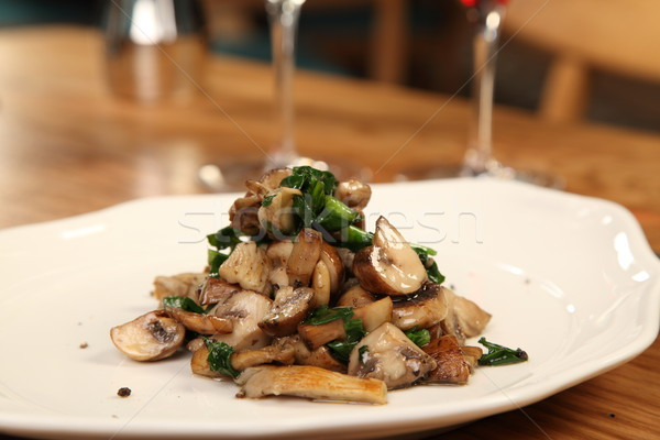 грибы блюдо различный обеда Сток-фото © shamtor