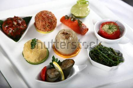Appetizer composition Stock photo © shamtor