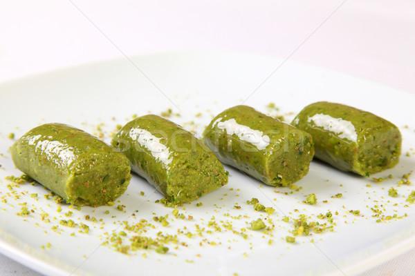 турецкий десерта типичный фон белый Сток-фото © shamtor