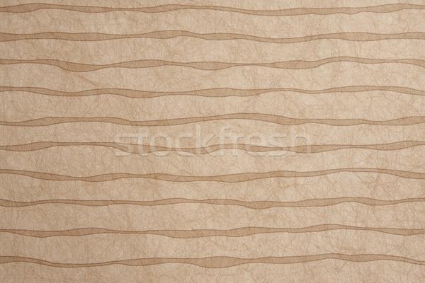 коричневый аннотация бумаги полосы стены фон Сток-фото © shamtor