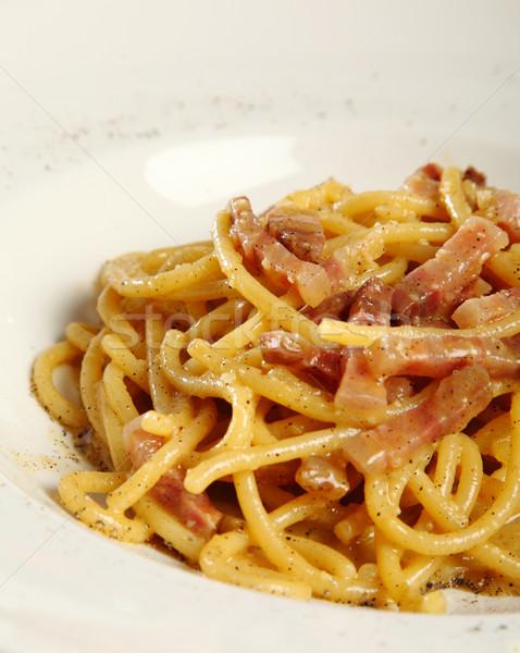 Pasta Carbonara Stock photo © shamtor
