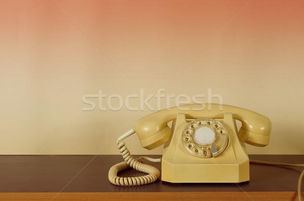 старые телефон ретро пусто место Сток-фото © sharpner
