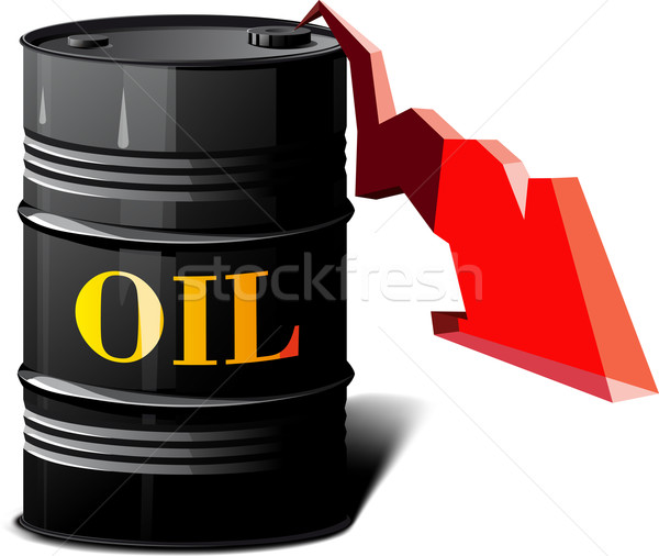 barrel of oil and the falling prices Stock photo © sharpner