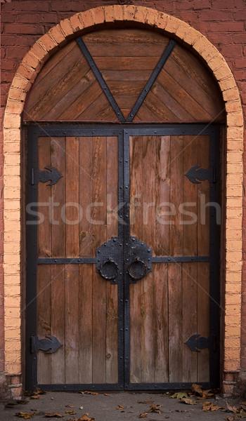 castle door Stock photo © sharpner