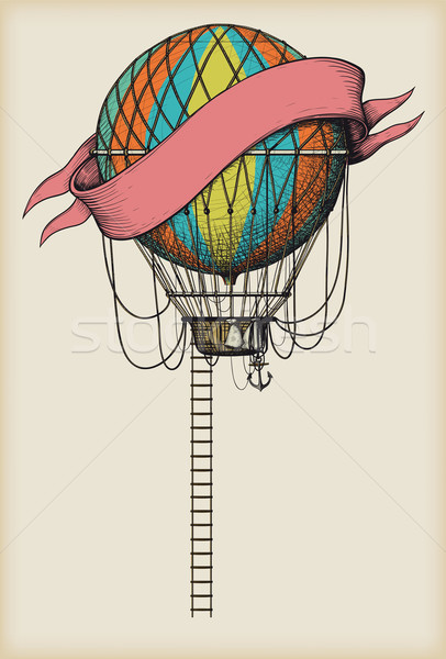 Old Air Balloon Stock photo © sharpner