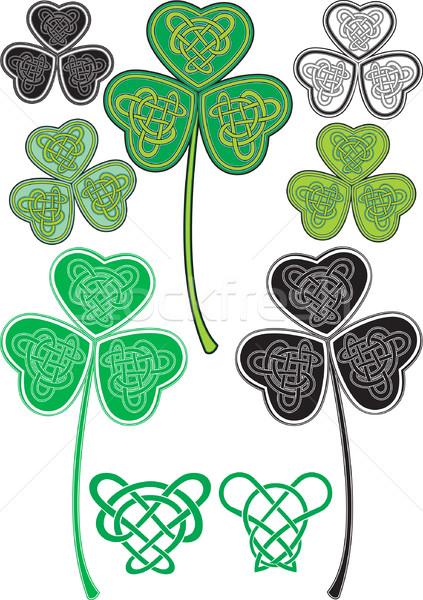 celtic leaf Stock photo © sharpner