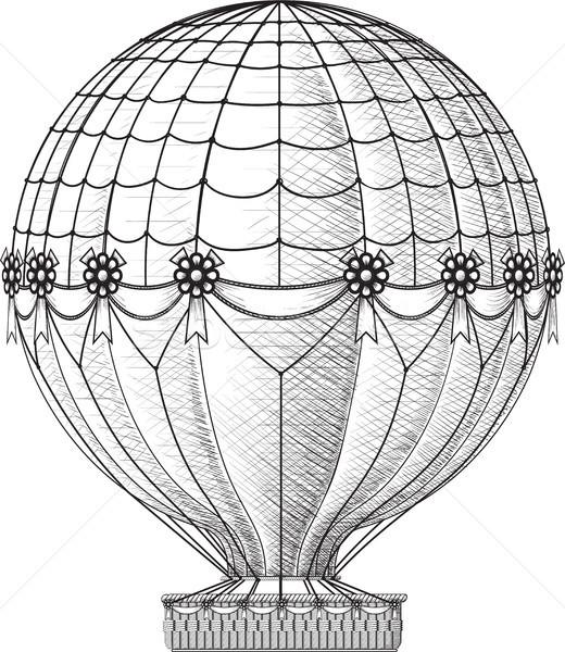old Air Balloon Stock photo © sharpner