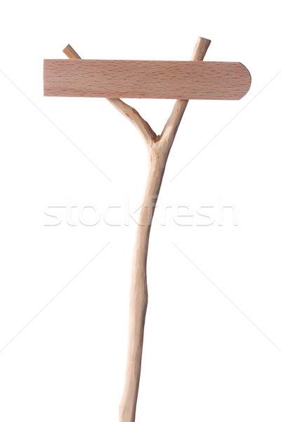Wooden Pointer in Front Stock photo © sharpner
