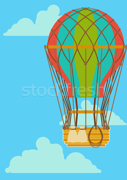 Hot Air Ballon Stock photo © sharpner