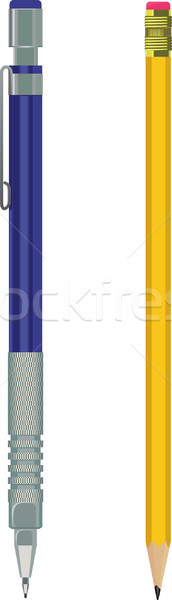 pencil and automatic pencil Stock photo © sharpner