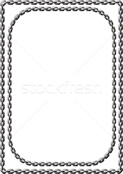 Chain Frame Stock photo © sharpner