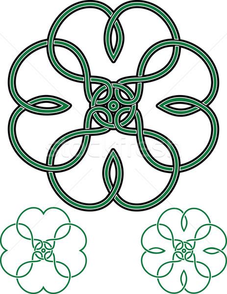 4 葉 クローバー 伝統的な ケルト ストックフォト © sharpner