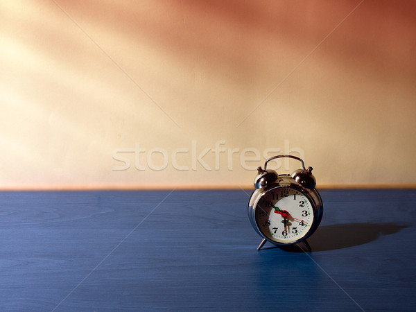 目覚まし時計 午前 表 光 太陽 クロック ストックフォト © sharpner