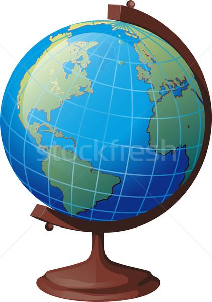школы мира стоять американский континент бизнеса Сток-фото © sharpner