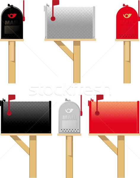 屋外 3  異なる 色 側面図 フロント ストックフォト © sharpner
