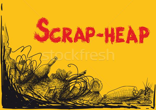 large spontaneous dumps Stock photo © sharpner